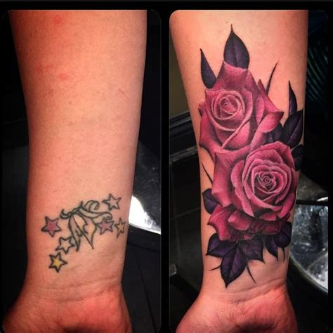 Tattoo Cover Up Pinterest | rose cover up tattoos tattoos pinterest tattoos