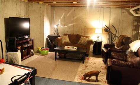 Ways To Decorate An Unfinished Basement by Decorate Unfinished Basement Www Imgkid The Image