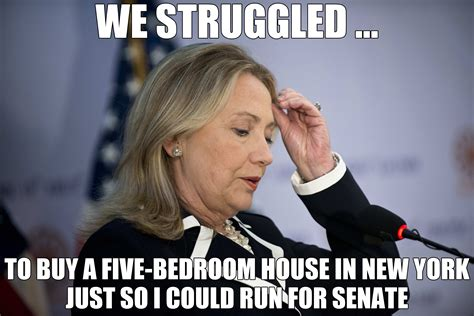Clinton Memes - ready for hillary to struggle with a carpetbagging