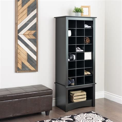 shoe storage cabinet black prepac cubbie cabinet black shoe rack ebay