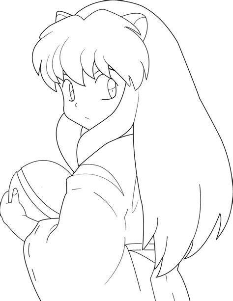 Coloring Pages Of Anime Characters Inuyasha And Kagome Coloring Pages Cartoon Characters by Coloring Pages Of Anime Characters