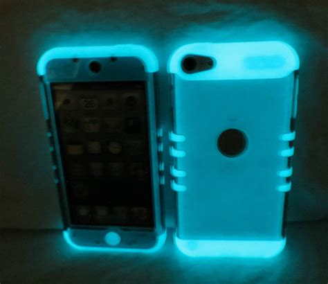 Ipod 4 Touch Ipod 5 Marble Blue Cover Casing Hardcase ipod touch 5th 6th transparent smoke glow hybrid cover ebay