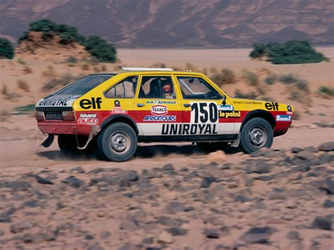 renault dakar 1982 renault 11 turbo related infomation specifications