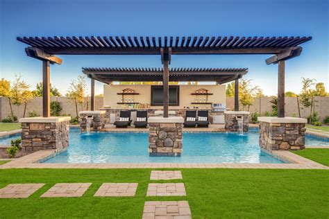 Backyard Usa by Dorada Estates The Aracena Home Design