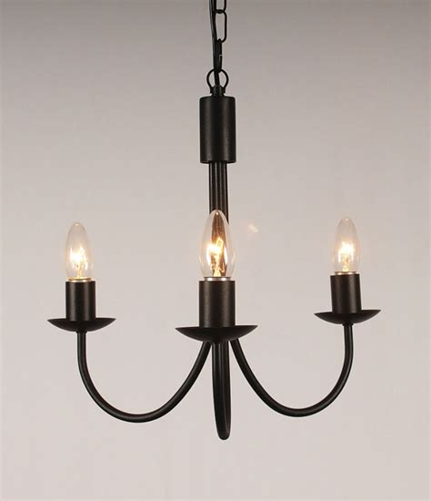 Iron Chandelier With Candles The Belton 3 Arm Wrought Iron Candle Chandelier Bespoke Lighting Co
