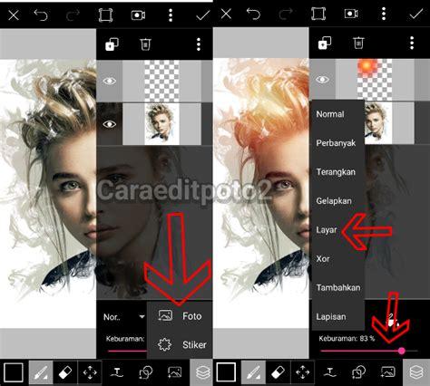 tutorial picsart keren tutorial picsart terbaru smoke effect keren di android