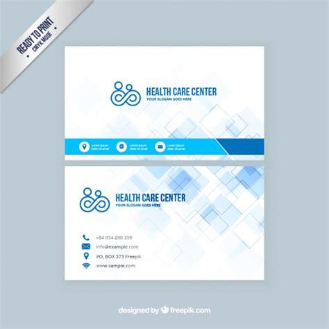 Visiting Card Template Coreldraw by Tarjeta De Visita De Atenci 243 N De Salud Descargar
