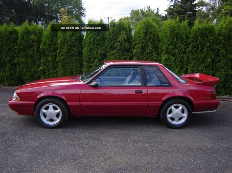 1989 mustang lx 5 0 specs 1989 ford mustang lx coupe