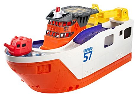 mission marine boats matchbox mission marine rescue shark ship ebay