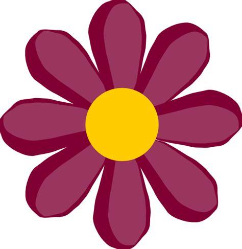 free flower clipart purple flower 17 clip at clker vector clip