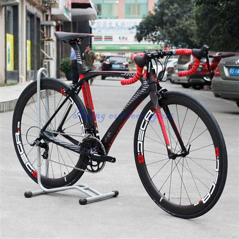 Sepeda Carbon Fiber Cyclocross Mtb Frames Carbon Gravel Road Bik 2017 java feroce carbon fiber road bike 700c capiler brake with carbon wheelset sram apex