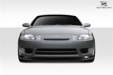 lexus sc400 97 97 00 lexus sc v speed duraflex front bumper lip body kit