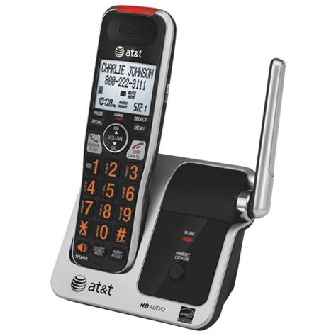 best buy cordless phones at t dect 6 0 big button cordless phone crl81112