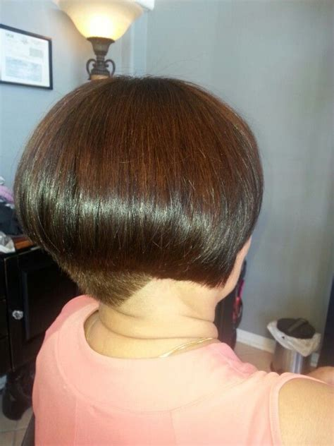 bob hairstyle cut wedged in back wedge bob cut natural phenomena pinterest