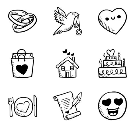 doodle draw icon pack 390 free icons svg eps psd png files