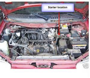 2001 Nissan Altima Starter Location Nissan Altima 2000 Starter Location Get Free Image About