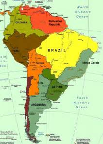 america on a map map south america timelines
