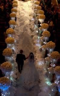 winter wedding aisle decorations wedding decorationwedding ceremonies winter