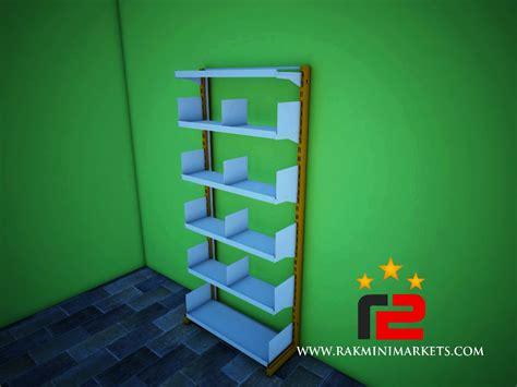 Rak Minimarket Tasikmalaya rak buku single pusat rak minimarket murah