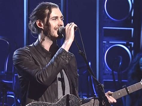 hozier on snl hozier performs take me to church and angel of small