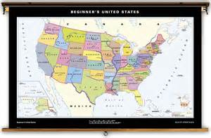 klett perthes beginner s united states classroom map on