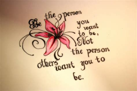 tattoo flower quotes quote and flower by tattoogamergirl on deviantart