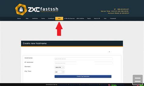 cara membuat vpn di fastssh cara membuat ip host menjadi domain gratis di fastssh