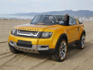 does the land rover defender dc100 sport show the