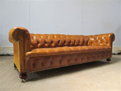 antique leather chesterfield sofa antique large leather chesterfield sofa