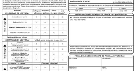 boletas de calificaciones 2015 2016 cuarto grado boletas de calificaciones 2015 2016 formato de boletas