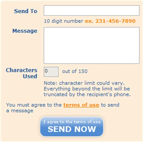 send free text messages to cell phones from your pc