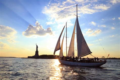 shearwater boat tour nyc sailboat harbor tours nyc sailing charters nyc