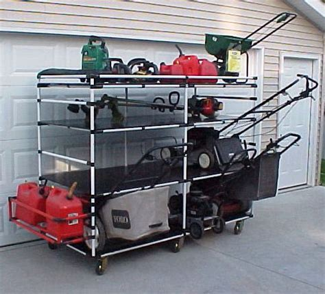 Lawn Mower Storage Rack photos