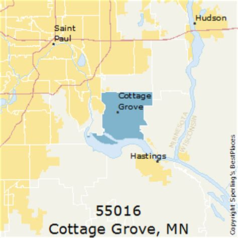 best places to live in cottage grove zip 55016 minnesota