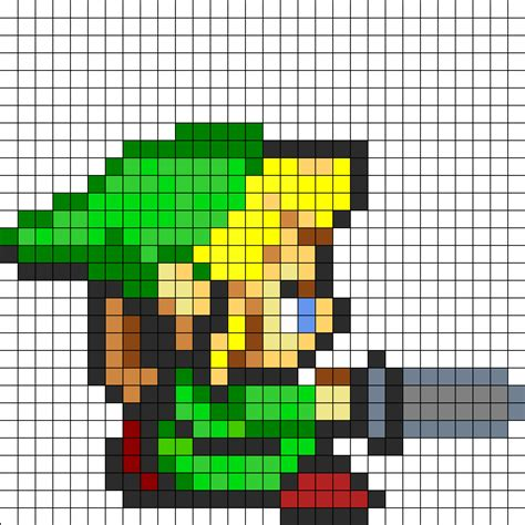 Youtube Link Pattern | bead pattern perler patterns characters fuse