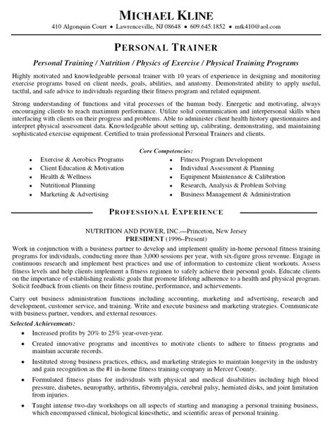Sle Resume For Business Trainer corporate trainer resume contemporary exle