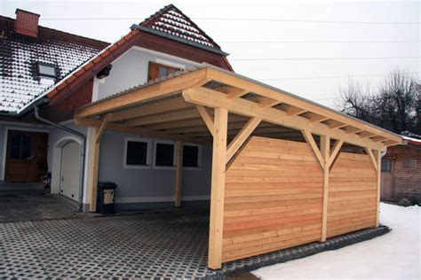 aus carport garage machen das passende carport vom steirischen holzbau meister