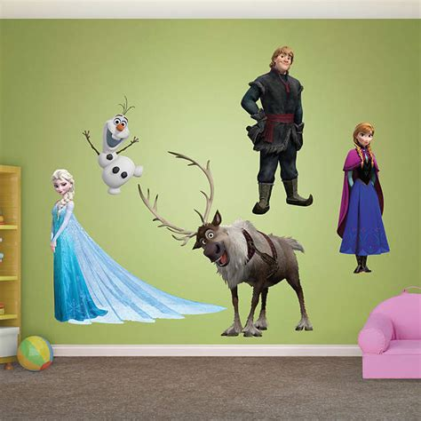 Fatheads Wall Stickers frozen collection wall decal shop fathead 174 for disney