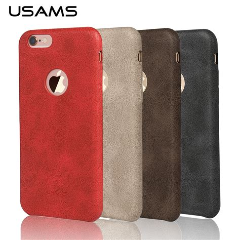 Usams Bob Series For Iphone 6 Unikiosk usams leather for iphone 6 cover luxury 4 7 inch back cover for iphone6 iphone 6s