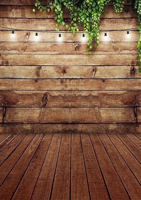 shop brown wood wall floor backdrop  green leaves