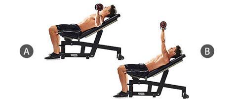 incline dumbbell bench press lịch tập gym 6 buổi cho nam c 243 minh họa chi tiết