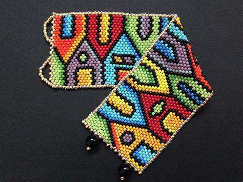 beaded peyote bracelet pattern peyote bracelet pattern even count peyote pattern peyote