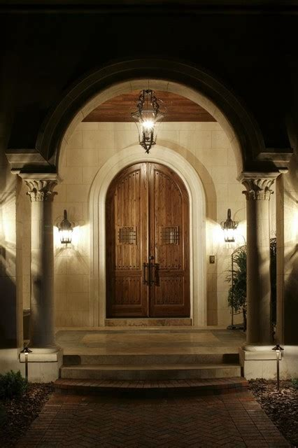 Exterior Doors Orlando Front Doors Mediterranean Entry Orlando By Kamenoff And Associates Inc