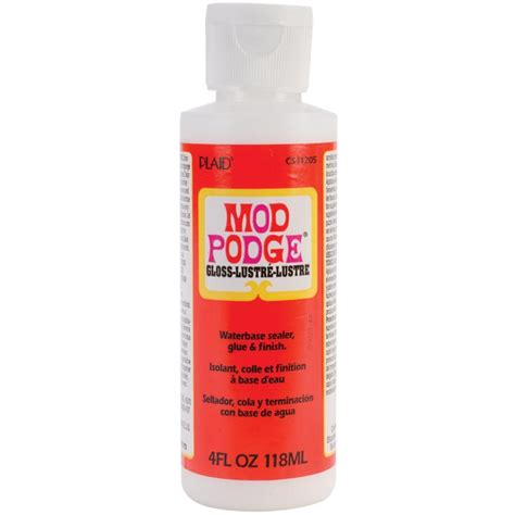 decoupage sealer 4oz mod podge gloss finish glue sealer for decoupage