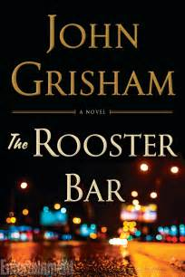 John Grisham's The Rooster Bar: Cover reveal
