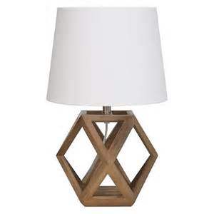 Small Table L Light Accent L Geometric Figural Wood Includes Cfl Bulb
