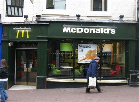 Our Town House Plans by Shrewsbury Town Centre Mcdonald S To Close Today