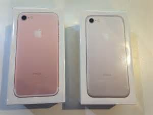 Iphone 7 silver rose gold available 128gb storage brand new