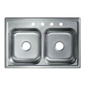 kohler toccata top mount stainless steel 33 in 4