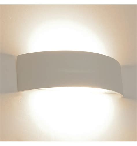 led applique applique led design demi lune arca